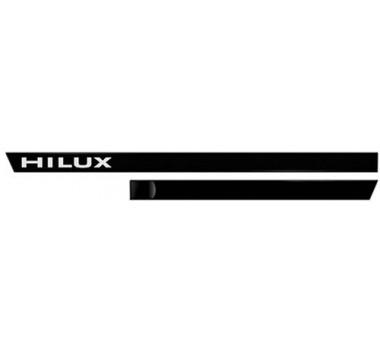 Friso Lateral Hilux 05/15 - Preto (c/ Nome)