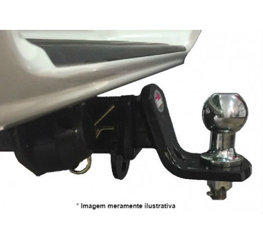 Engate Reboque Removível Volpato - S-10 2001 a 2012  1.500kg