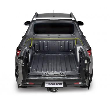 Sistema de Escoamento para Caçamba da Fiat Toro