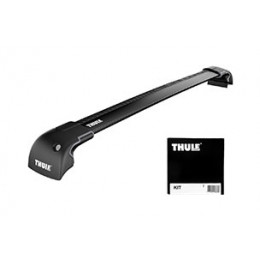 Rack p/ Compass 17/... - Thule Wingbar Edge Preto