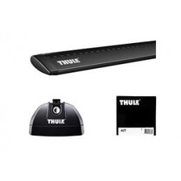 Rack p/ L-200 Triton Sport 17/... - Thule Wingbar Rapid System Preto